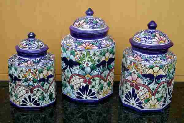 Large Talavera Canisters image