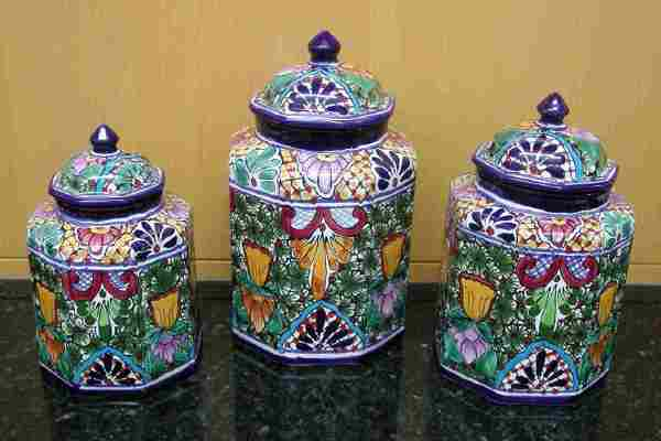 Talavera canisters link