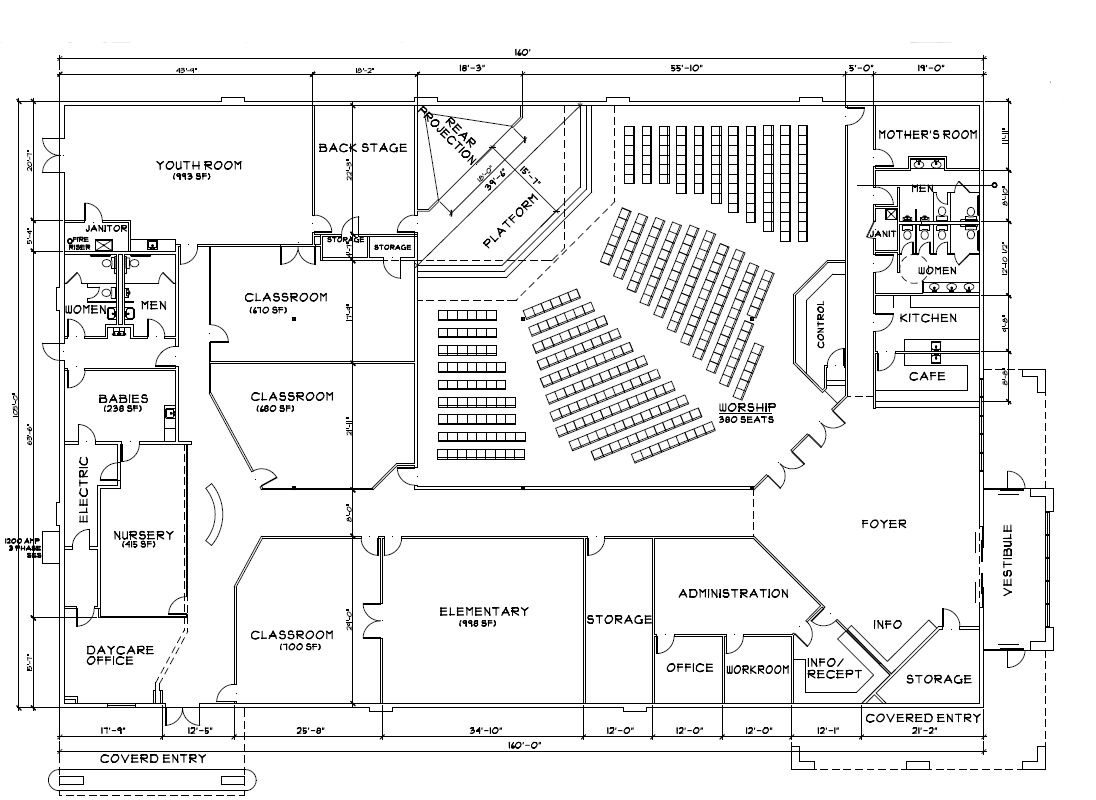 Preschool Floor Plan on day care center floor plans